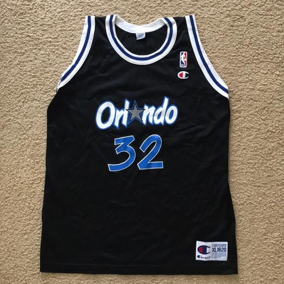 2a050048a8e Champion Shirts   Orlando Magic Shaq Oneal Jersey Vintage Nba   Poshmark